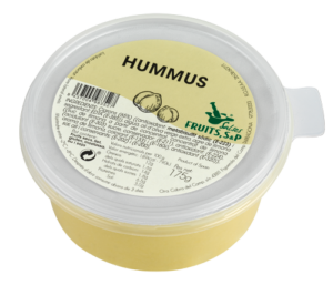 Packaging Hummus Fruits