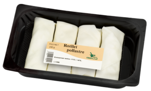 Packaging Rotllets Pollastre