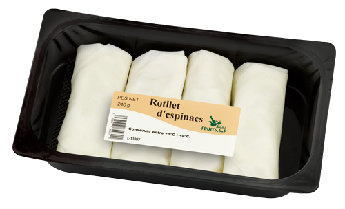 Packaging Rotllets dEspinacs