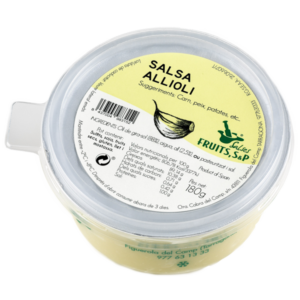 fruits salsa allioli