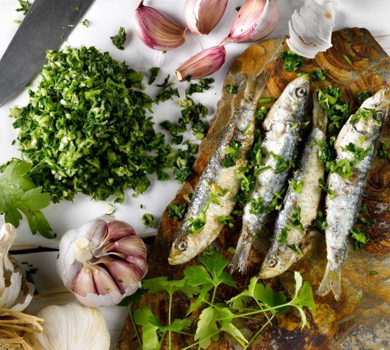 fruits receptes sardines