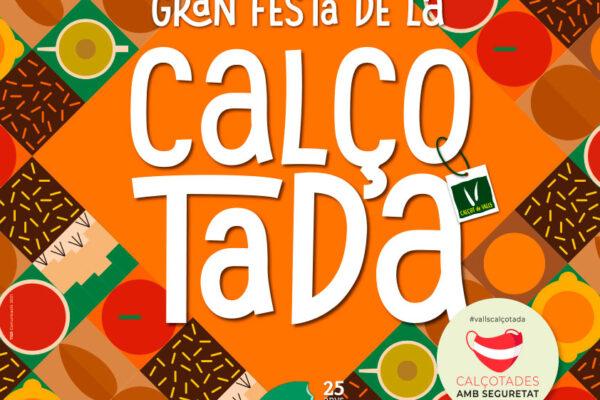 Cartell Calçotada 2021 - salses fruits SP patrocinador oficial