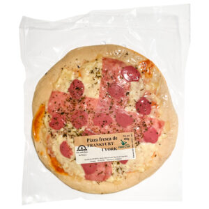 Pizza fresca Frankfurt i york Salses Fruits SP