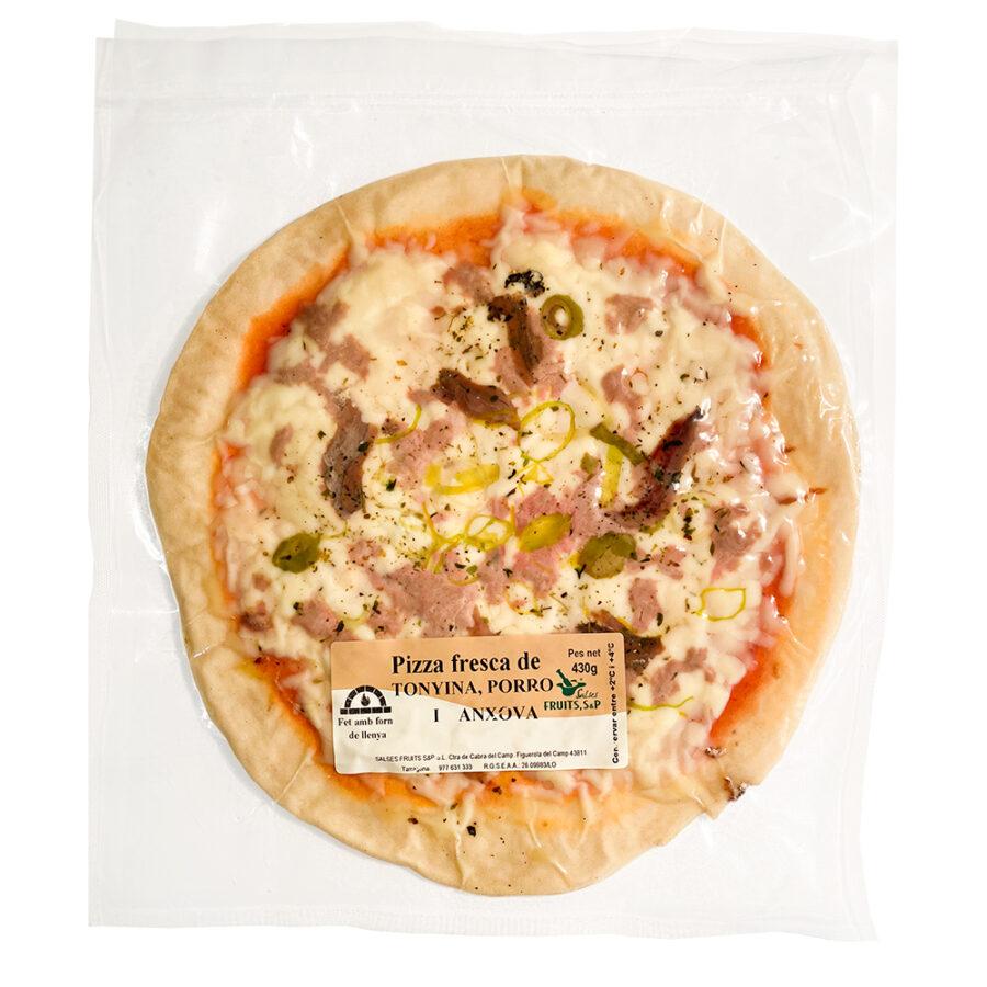 Pizza fresca tonyina i anxoves Salses Fruits SP