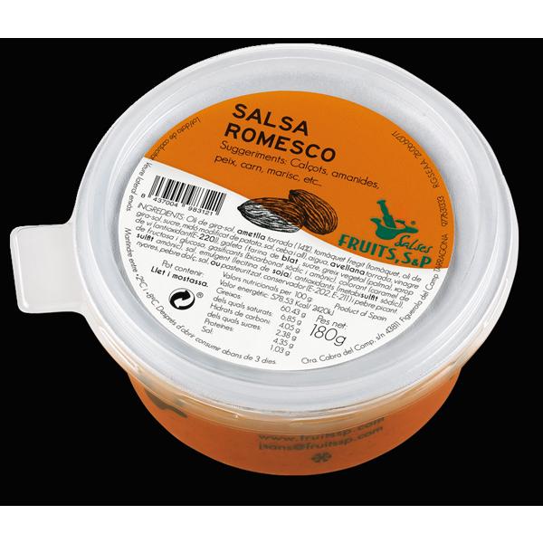 fruits salsa romesco