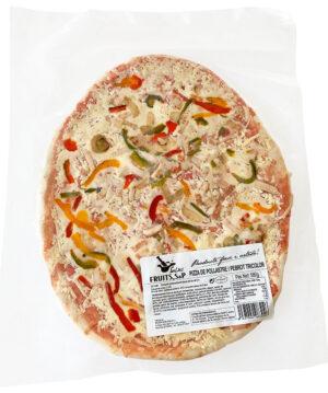 pizza tricolor pollastre salses fruits SP